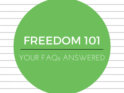 Freedom 101 - FAQs answered