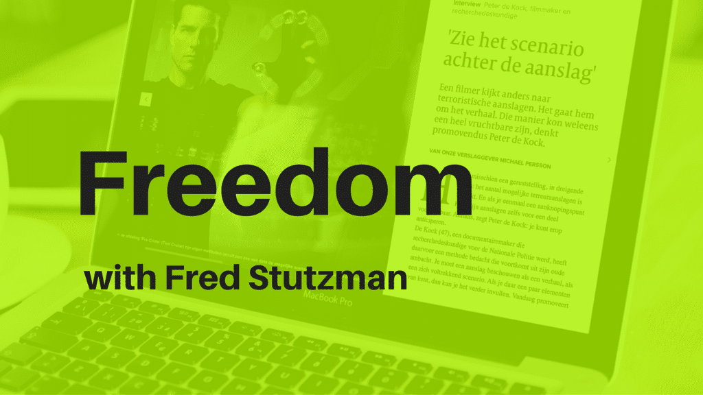 Fred Stutzman talks digital habits