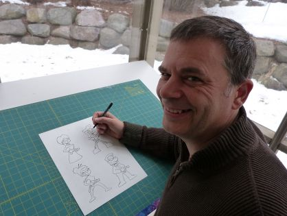 Cartoonist John Kovalic on Productivity, Focus, and Balance as a Creative