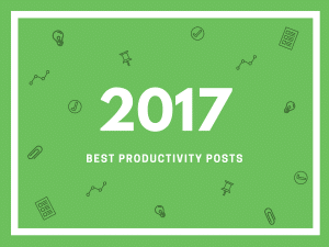 Top productivity posts of 2017