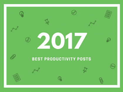 Best Productivity Posts of 2017