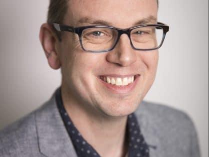 Comic writer Cavan Scott