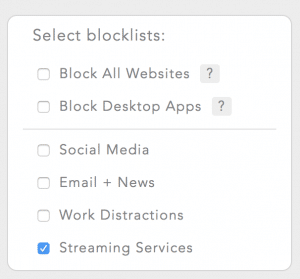 block streaming services