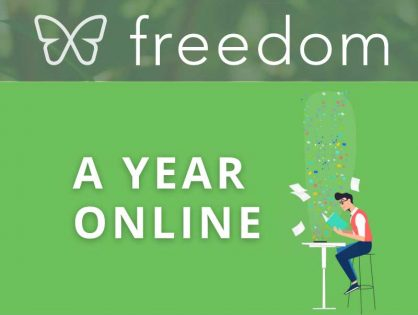 Freedom in 2020: A Year Online