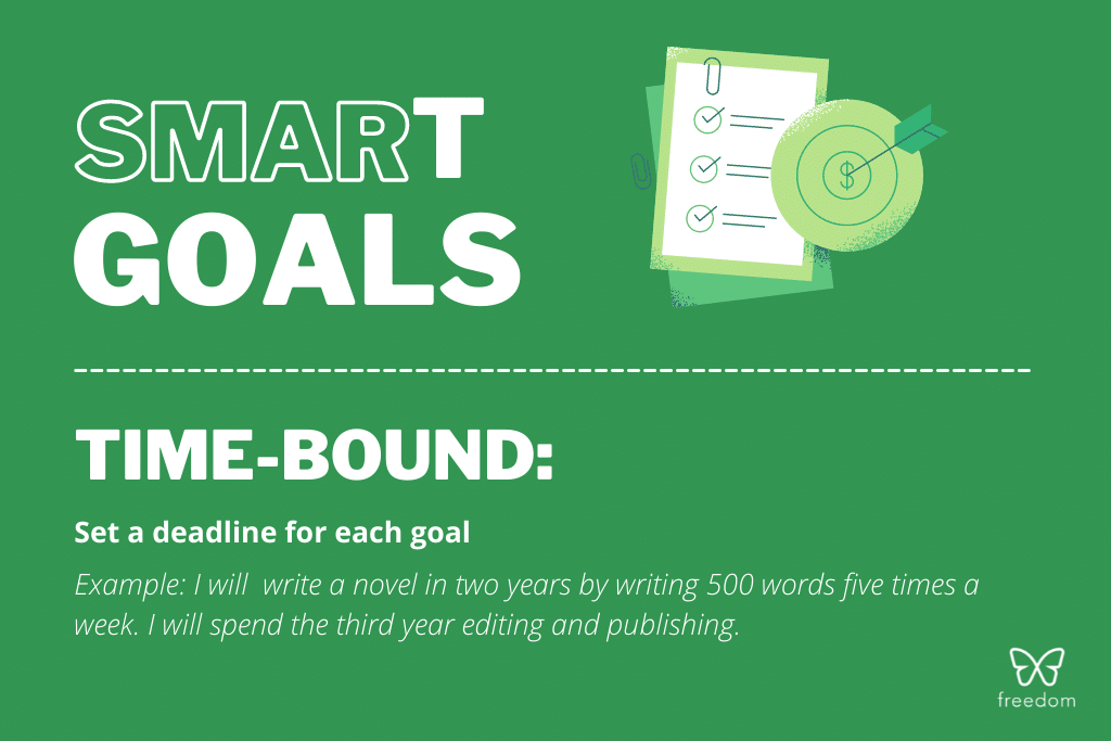 smart goals: time-bound