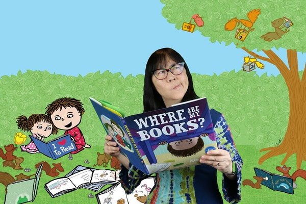 Debbie Ridpath Ohi Childrens' book author and illustrator