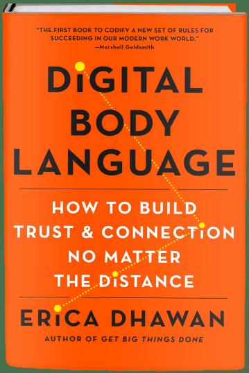Digital Body Language book by Erica Dhawan
